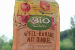 dm Bio Jablko, banán a špalda