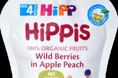 HiPP BIO HiPPis Jablko, broskev a lesní ovoce