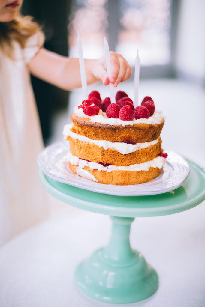 Pár tipů na dort k 1. narozeninám